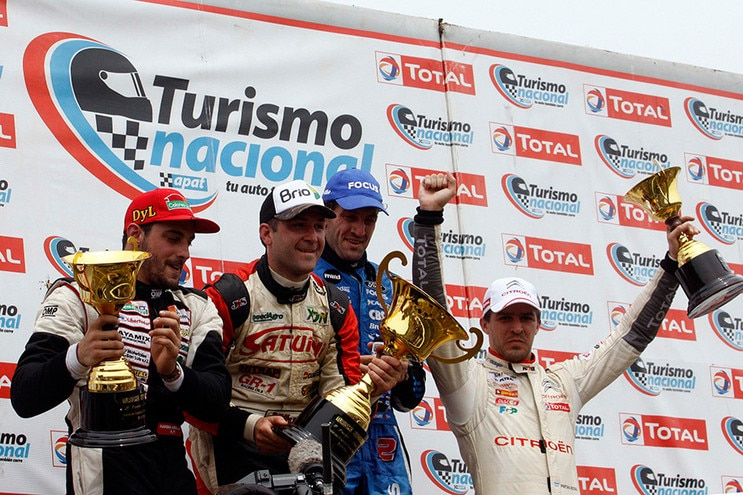 PODIO PARA EL CITROËN TOTAL TN RACING EN POSADAS